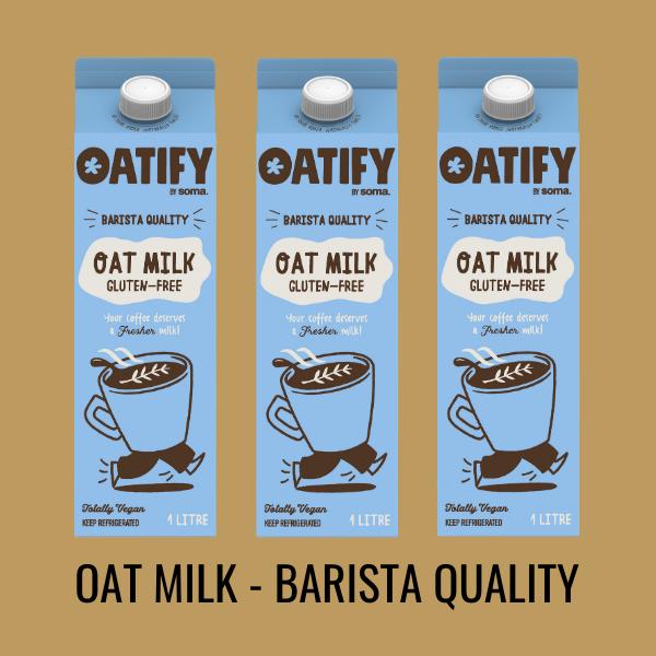 Oat Milk - Barista Quality